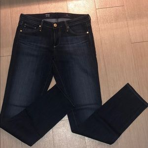AG Women's Dark 'Stilt' Denim Size 27